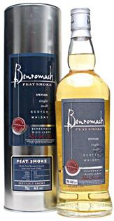 Benromach Scotch Single Malt Peat Smoke 750ml